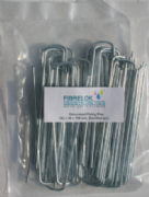100 Galvanised Fixing Pins 150mm x 30mm x 150mm